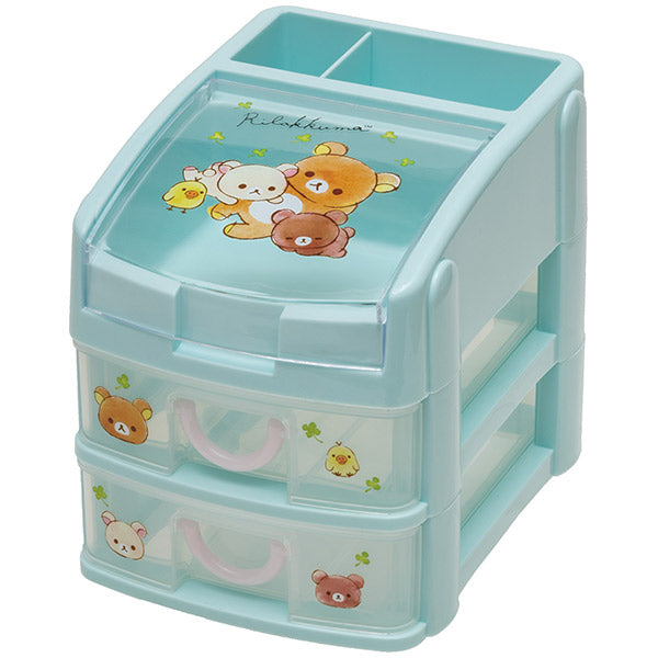 Rilakkuma mini Plastic Chest Clover San-X Japan