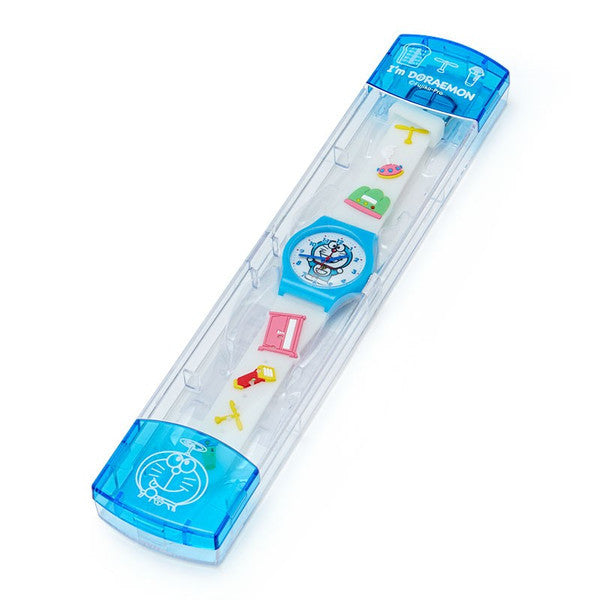 I'm DORAEMON Kids Rubber Watch Sweets Sanrio Japan