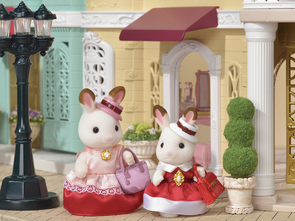 Town Dress up Duo Set Chocolate Rabbit TVS-01 Sylvanian Families Japan EPOCh