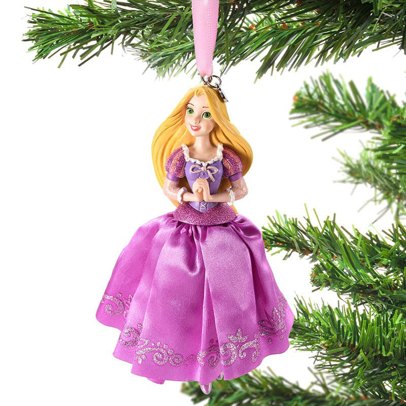 Rapunzel Christmas Tree Ornament Dress Disney Store Japan 2018