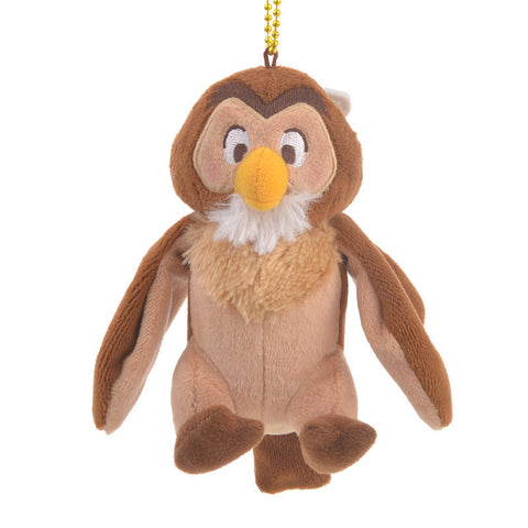 Owl Plush Keychain POOH'S HOUSE Disney Store Japan Winnie the Pooh
