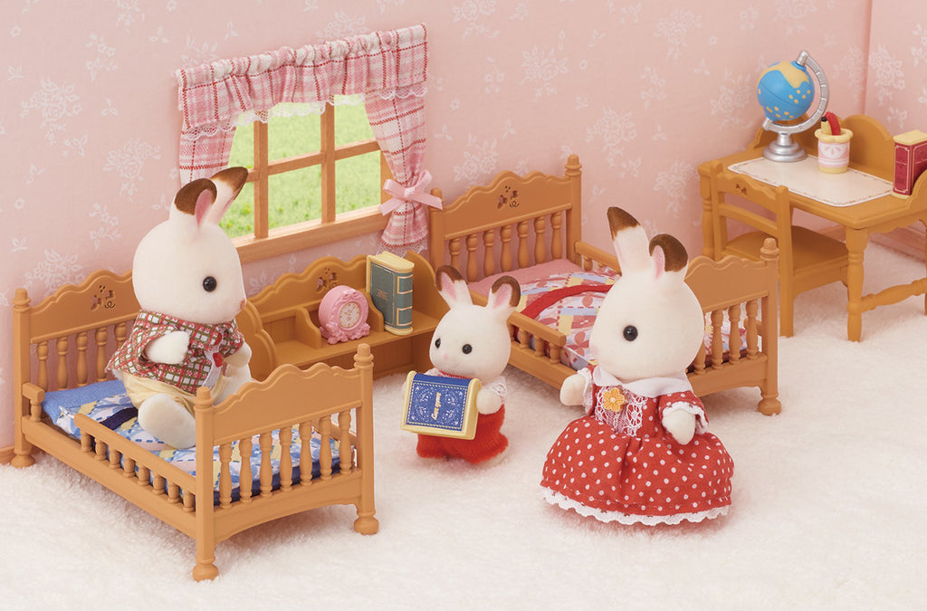 Furniture Study Desk Set Ka-318 Sylvanian Families Japan Calico Critters
