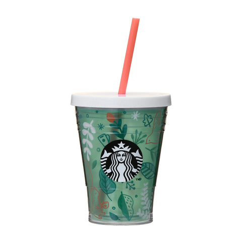 Cold Cup Straw Tumbler 355ml Joyful Forest Starbucks Japan