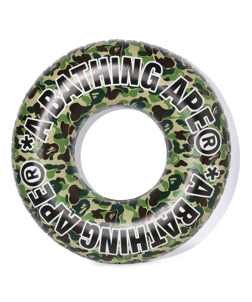 ABC BEACH FLOATING TUBE M Green A BATHING APE Japan