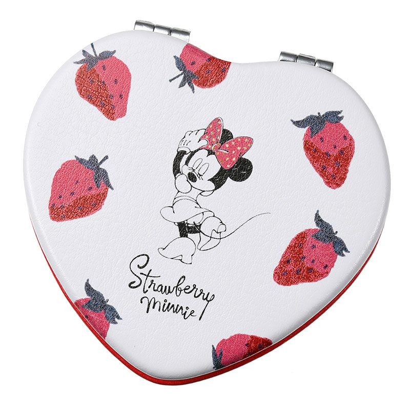 Minnie Hand Mirror Strawberry Ichigo Lifestyle Disney Store Japan