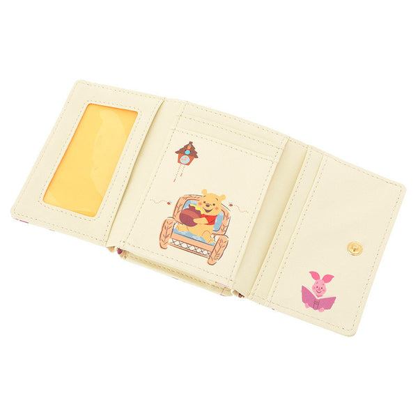 Winnie the Pooh & Friends Wallet POOH'S HOUSE Disney Store Japan