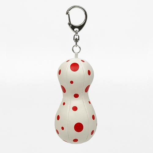 Balloon Mascot Plush Key Chain Yayoi Kusama White Dot Japan Artist