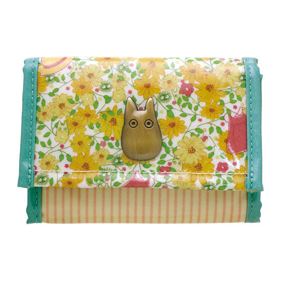 My Neighbor Totoro Wallet Velcro Flower Shop Studio Ghibli Japan