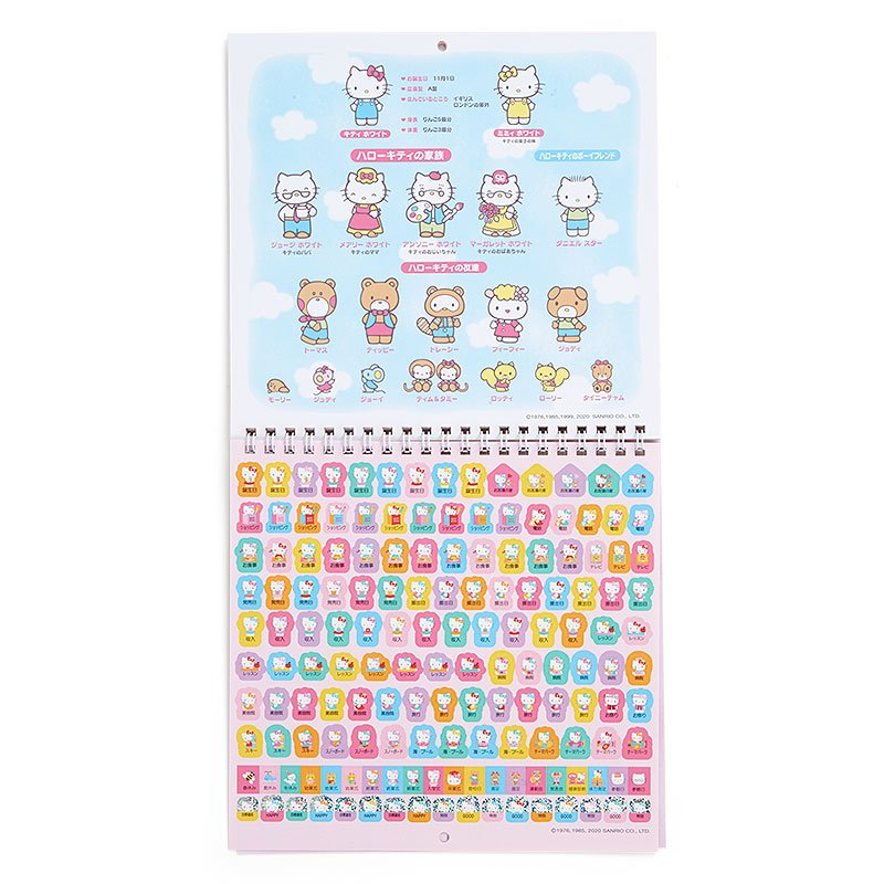 Hello Kitty Wall Calendar 2021 M Sanrio Japan