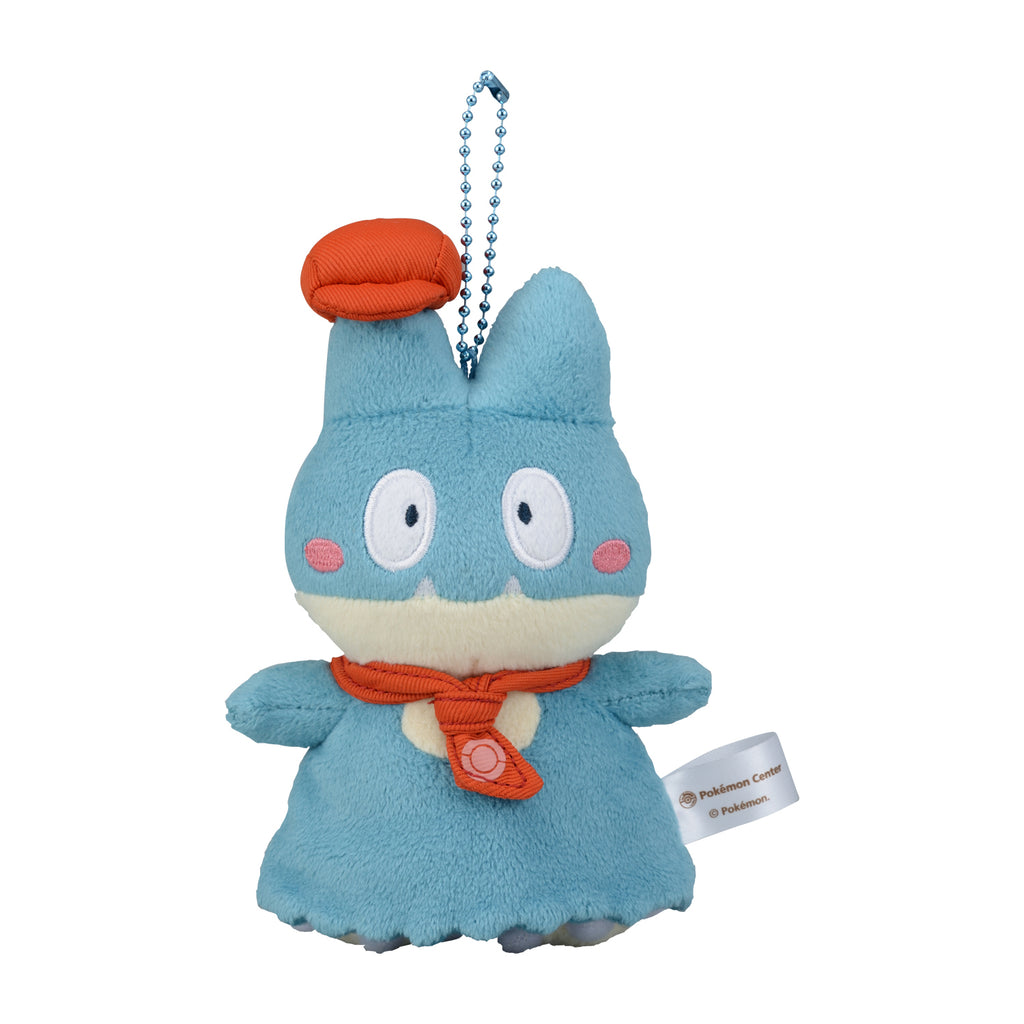 Munchlax Gonbe Plush Keychain Pokemon Cafe Mix Center Japan