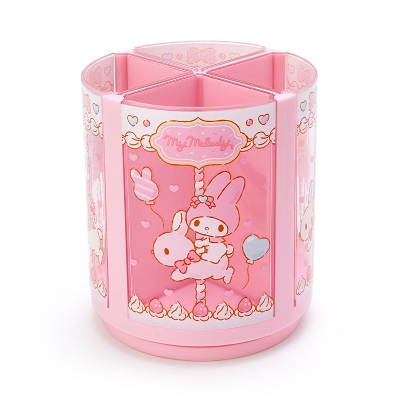 My Melody Roating Pen Stand Merry-go-round Sanrio Japan