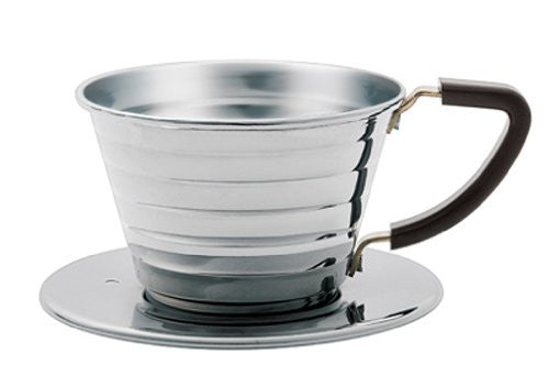 Stainless Coffee Dripper 155 04021 Wave Series Kalita Japan