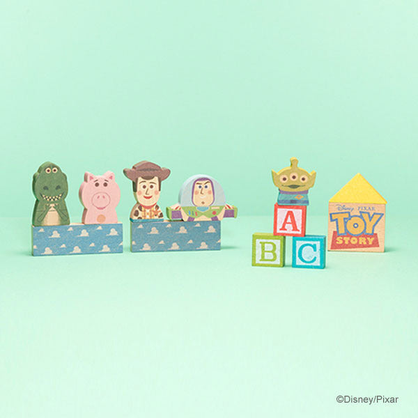 Toy Story KIDEA Toy Wooden Blocks Set Disney Store Japan