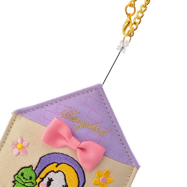 Rapunzel Reel ID Card Pass Case House Disney Store Japan Princess