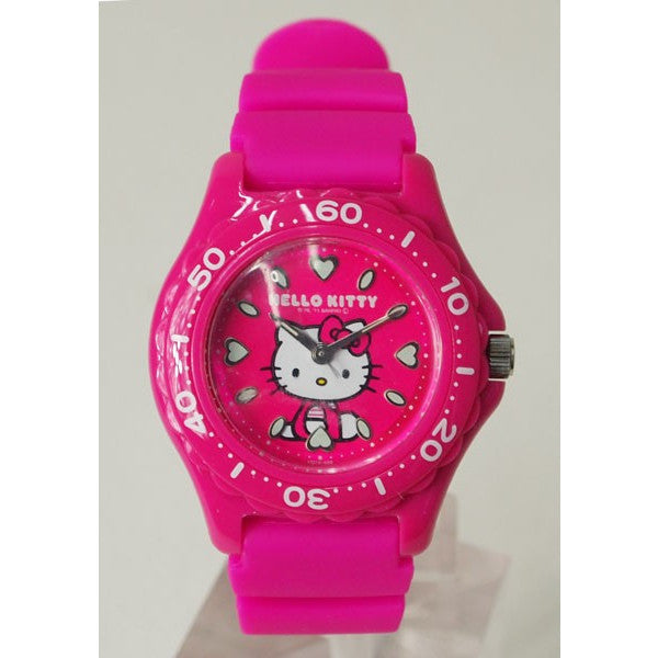 Hello Kitty Wrist Watch Waterproof Pink VQ75-430 CITIZEN Q&Q Japan Sanrio