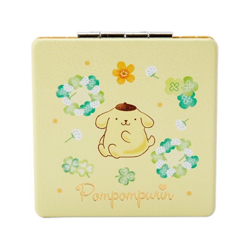 Pom Pom Purin Double Mirror HAPPY SPRING Sanrio Japan