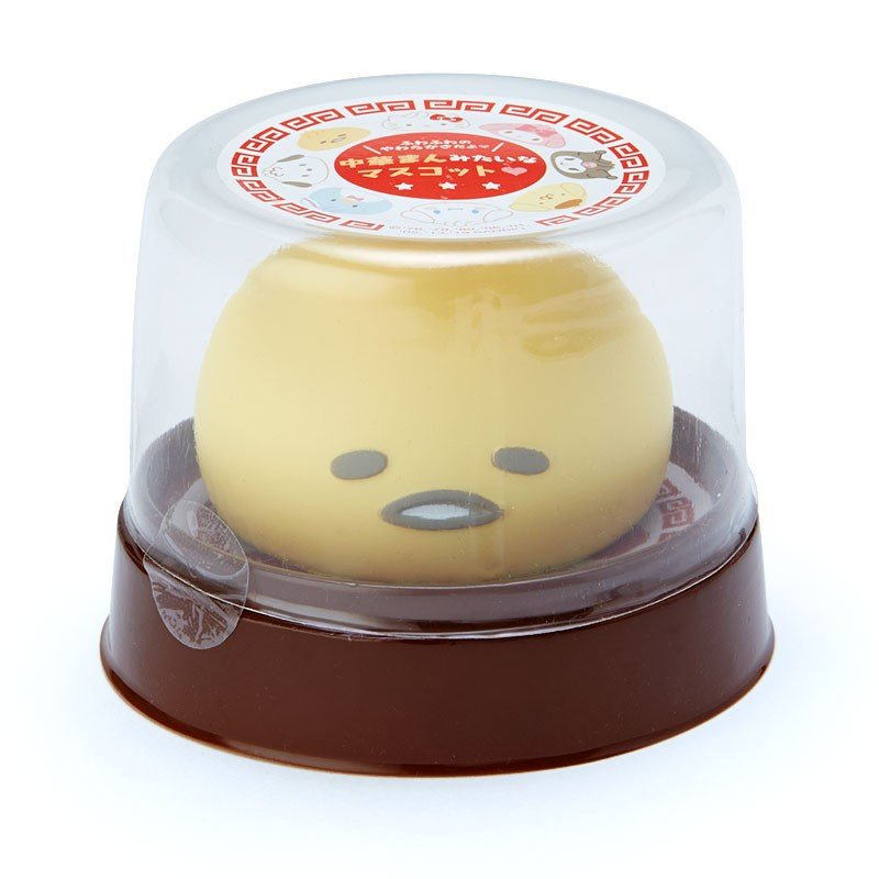 Gudetama Egg Doll Chinese bun style Steaming Basket Case Sanrio Japan