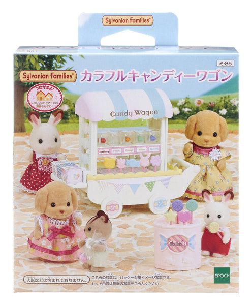 Colorful Candy Wagon Shop MI-84 Sylvanian Families Calico Critters Japan