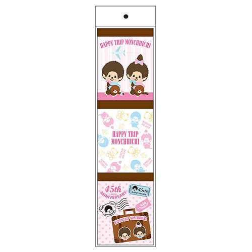 Monchhichi Memo Note Pad 3pcs A HAPPY TRIP MONCHHICHI Japan 2019