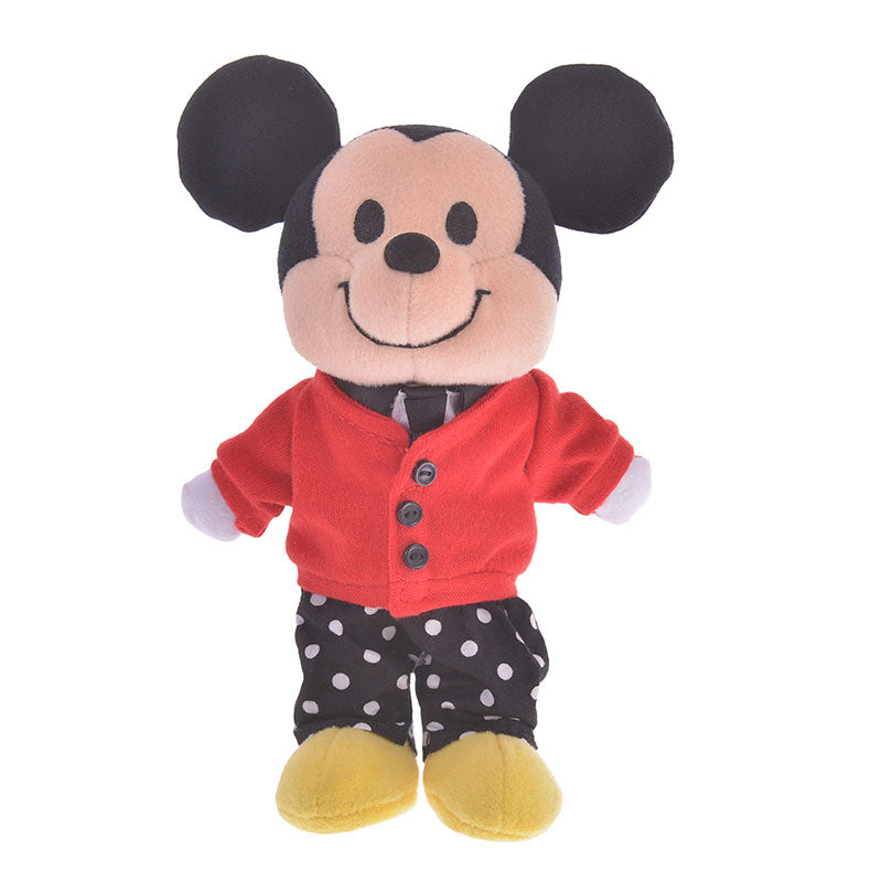 Costume for Plush nuiMOs Doll Cardigan Set Boy Dot Disney Store Japan