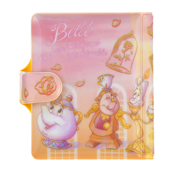 Belle Card Case Pouch Water Color Disney Store Japan Beauty and the Beast