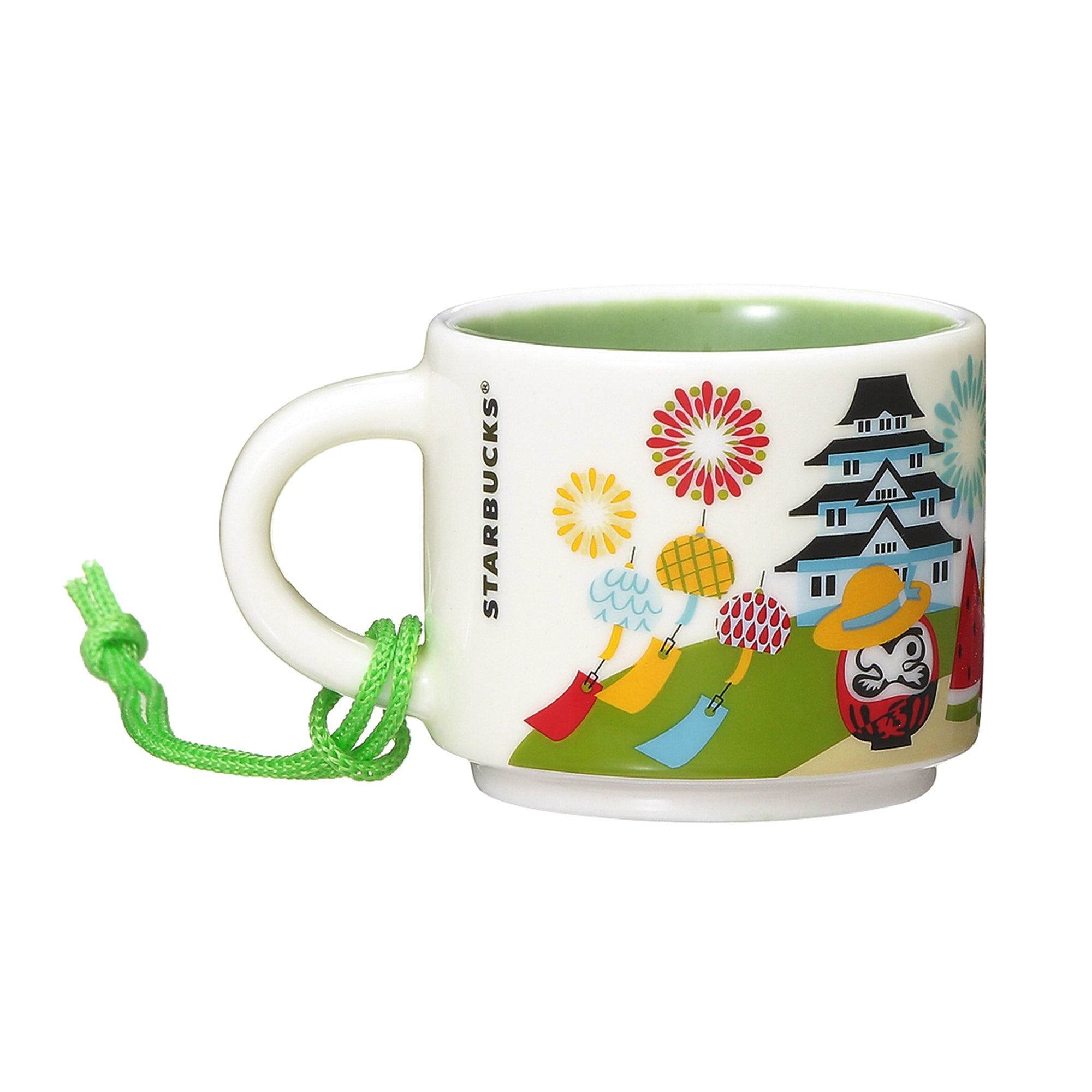 You Are Here Collection Mug Japan Summer 59ml Green Starbucks 2019