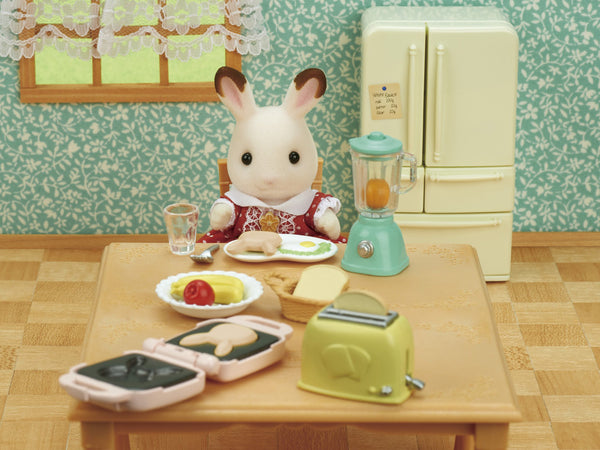 Delicious Breakfast Set Ka-424 Sylvanian Families Japan Calico Critters Epoch