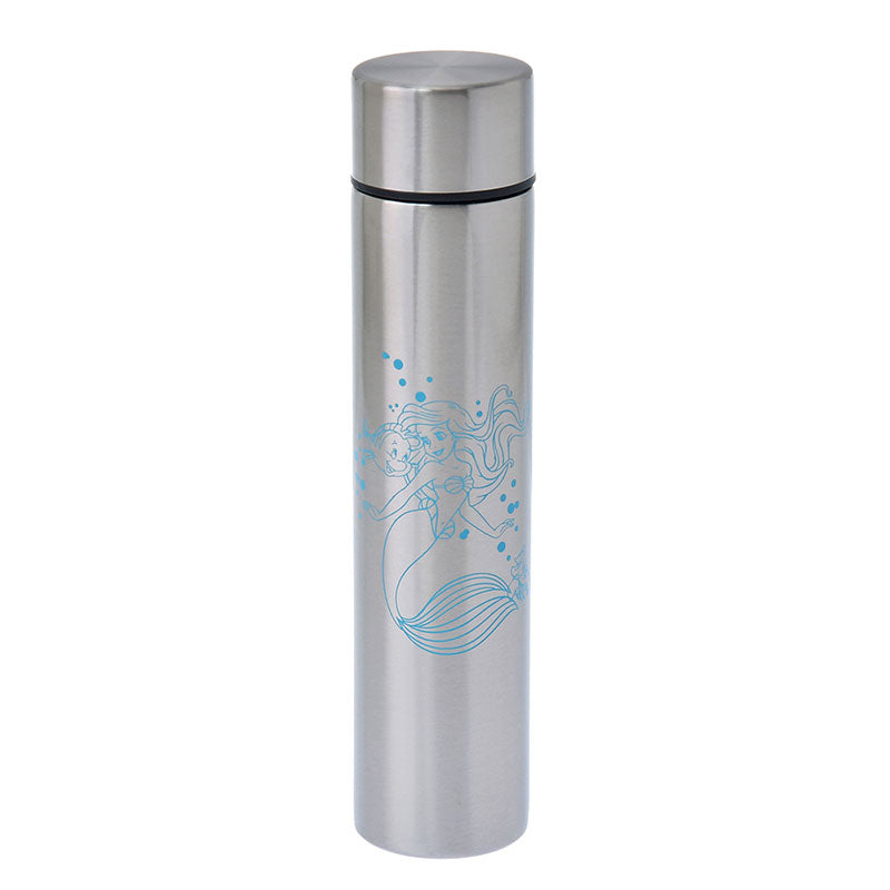 Ariel Flounder Sebastian Stainless Bottle 170ml Lipstick Disney Store Japan