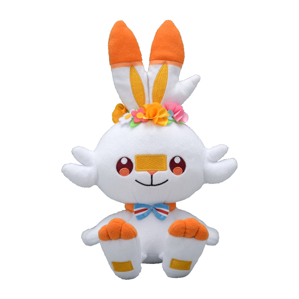 Scorbunny Hibanny Plush Doll Easter Pokemon Center 2020 Japan