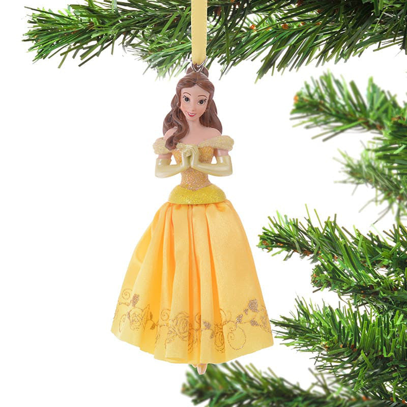 Belle Christmas Tree Ornament Dress Disney Store Japan 2018 Beauty and the Beast