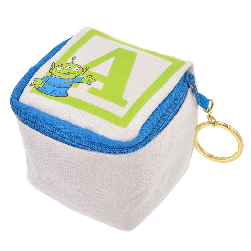 Alien Keychain Key Holder Pouch Toy Story Legacy Disney Store Japan