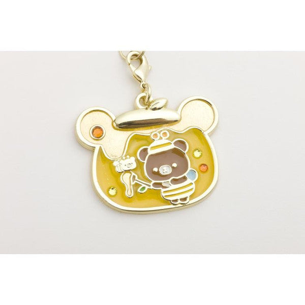 Chairoikoguma Charm Strap Honey Forest Harvest Festival San-X Japan Rilakkuma