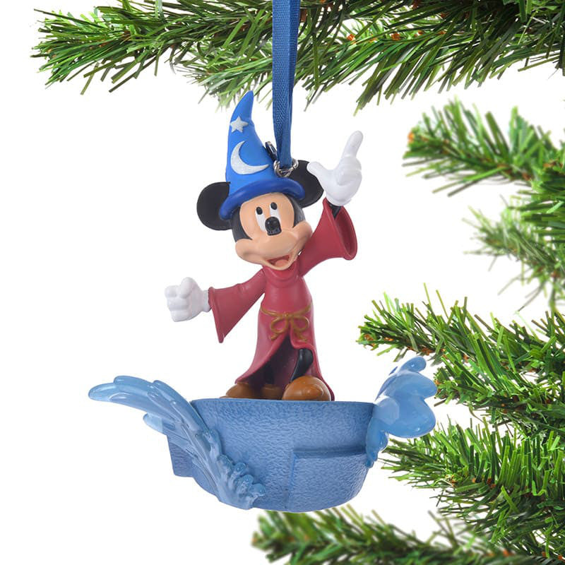 Mickey Christmas Tree Ornament Fantasia Light Up Disney Store Japan