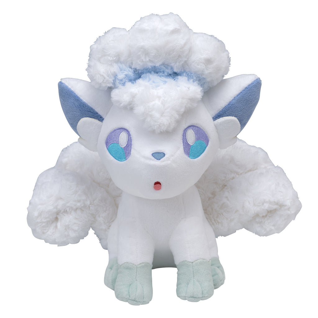 Alolan Vulpix Rokon Fluffy Plush Doll Pokemon Center Japan Original