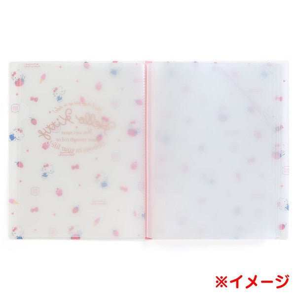 My Melody A4 Clear File Holder In Happiness Girl Sanrio Japan