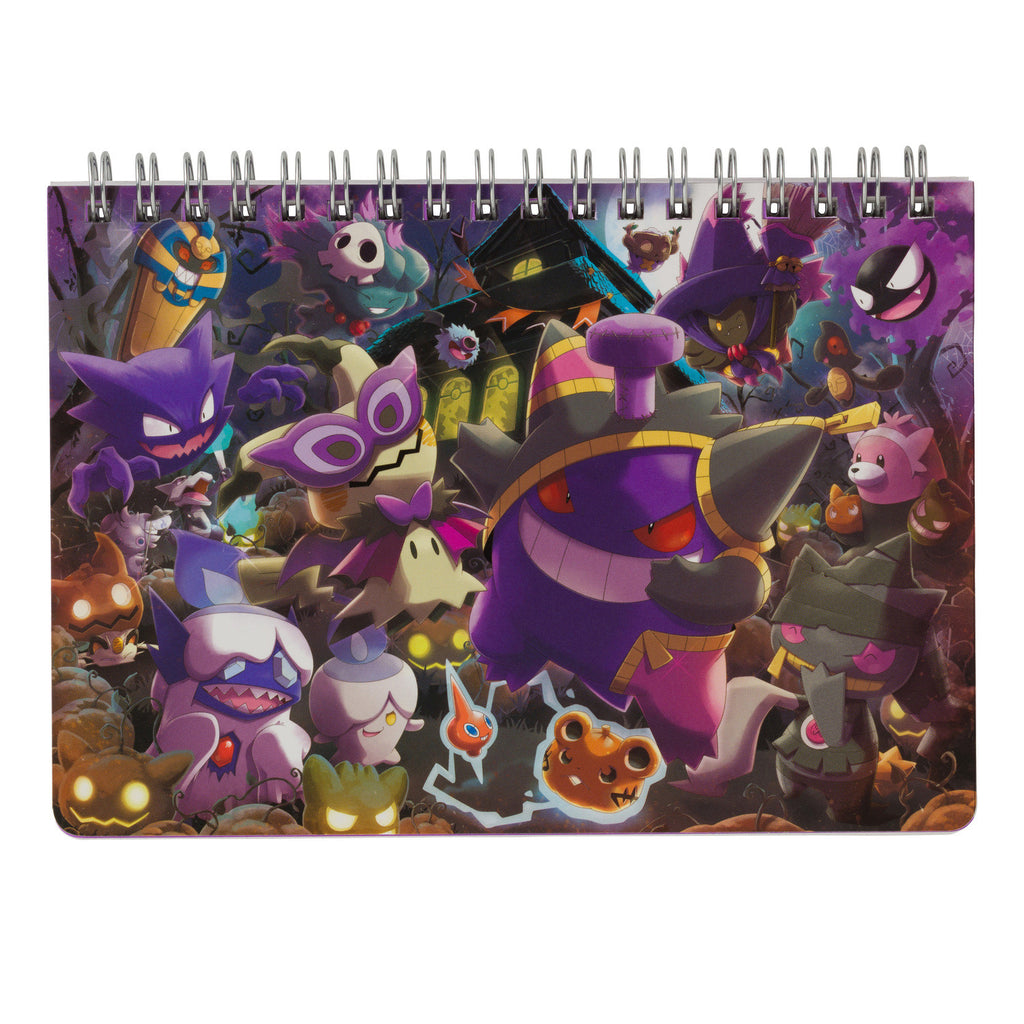 B6 Double Ring Notebook We Are TEAM TRICK Halloween 2018 Japan Pokemon Center