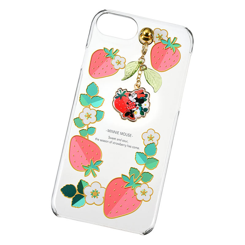 Minnie iPhone 6 6s 7 8 Case Cover Strawberry Ichigo Zakka Disney Store Japan