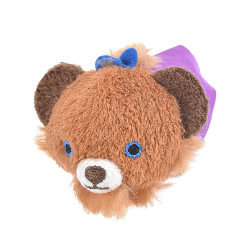 UniBEARsity Fauves Beast Plush Tsum Tsum mini S Disney Store Japan
