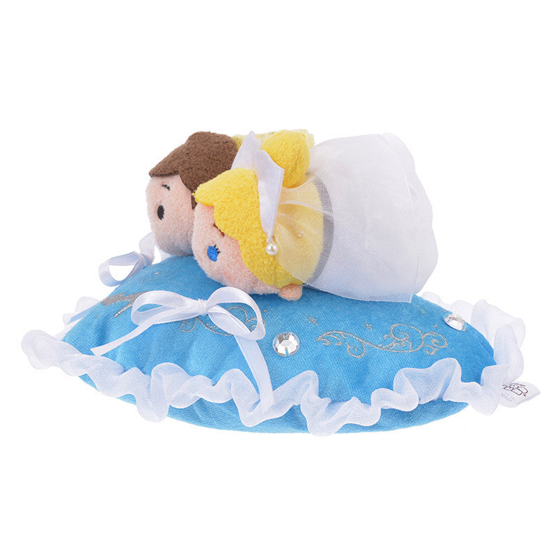 Cinderella Prince Charming Plush Tsum Tsum S mini Wedding Set Disney Store Japan