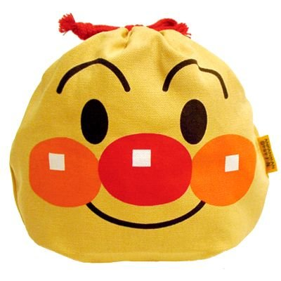 Anpanman Drawstring Pouch Kids Japan ANP-680