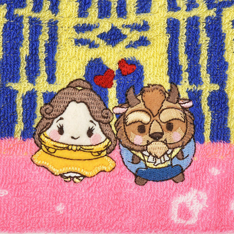 Beauty and the Beast mini Towel ufufy Disney Store Japan
