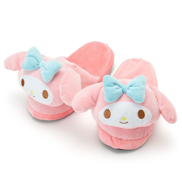 My Melody Plush Face Slipper Sanrio Japan