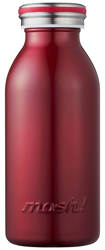 Water Bottle Vacuum Insulation Screw Mug Tumbler 0.35L Burgundy mosh! Japan