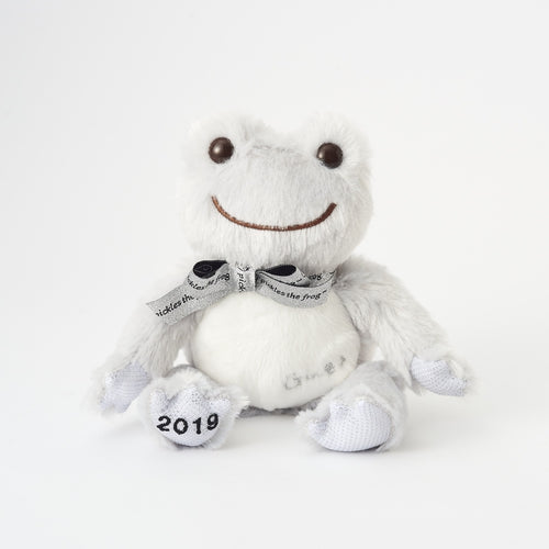 Pickles the Frog Bean Doll Plush Ginza Event Limit Gray Japan