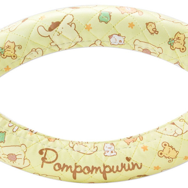 Pom Pom Purin Handle Cover Yellow Sanrio Japan Car Goods