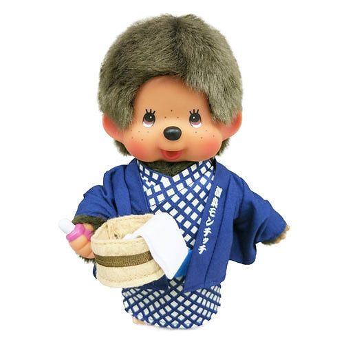 Monchhichi Doll S Boy Hot Spring Onsen Yukata Japan