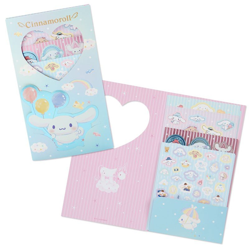 Cinnamoroll Volume Sticker Set Sanrio Japan