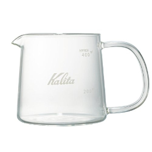 Heat Resistant Glass Coffee Jug Jug400 400ml # 31276 Kalita Japan