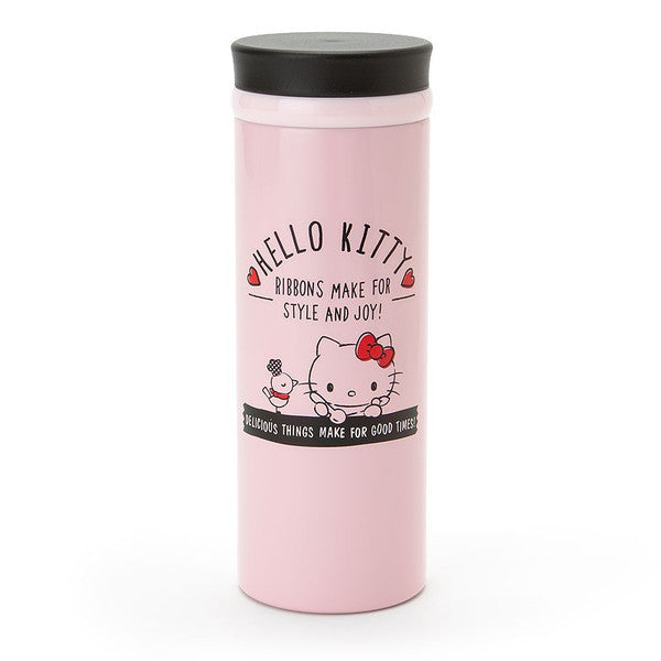 Hello Kitty Stainless Bottle Tumbler Simple Lunch Sanrio Japan