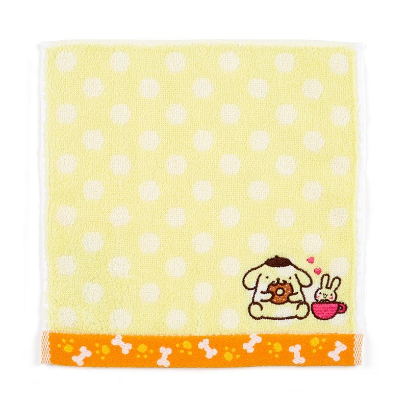 Pom Pom Purin mini Towel Dot Sanrio Japan
